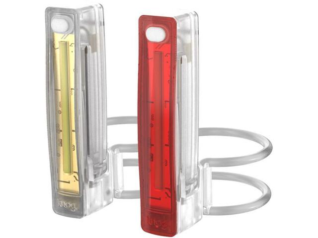 Knog Plus Twinpack Kit Éclairages, translucent
